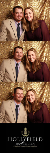 The True Color Photo Booth at Hollyfield Manor in King William County